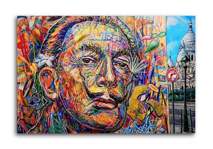 Graffiti Canavas Painting - Modern Art Paintings